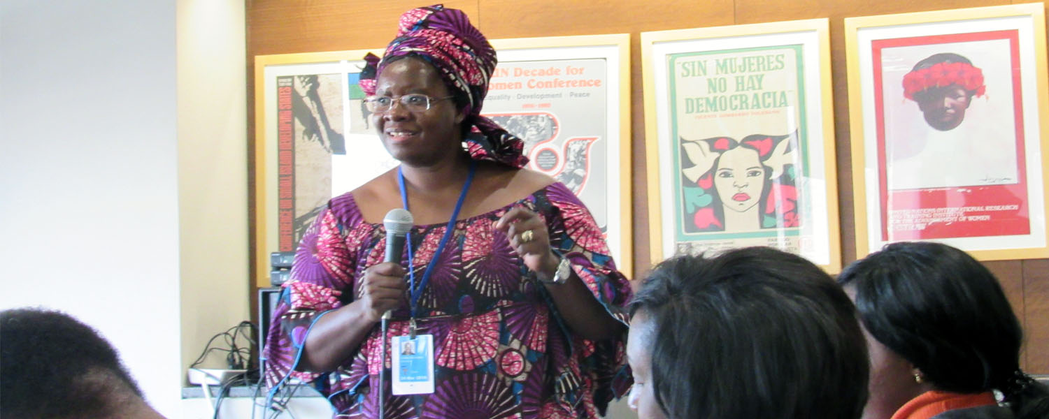 1st African Women Caucus during the 60th CSW, New York